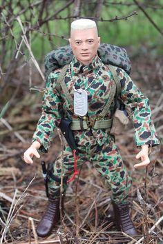 Custom Marine Gi Joe with High and Tight in full vintage gear