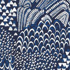 Starling-blue-pattern