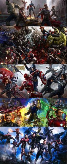 Avengers Assemble Evolution of Marvel Studios - Marvel Avengers, Marvel Comics, Marvel Films, Marvel Fan, Marvel Memes, Marvel Characters, Disney Marvel, Marvel Drawings, Avengers Wallpaper