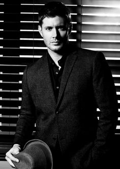 Jensen in B&W  #Supernatural season 9 promo