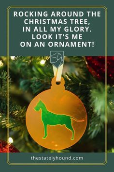 Rocking around the Christmas Tree, on my very own ornament. Make Christmas extra special this year with an ornament for your fur family member.  Don't see a dog to match your pup, just ask we will always try to make custom orders if time permits. #dogchristmas #dogs #dogornaments #christmastime Dog Dad Gifts, Dog Lover Gifts, Gifts For Dad, Xmas Tree, Christmas Tree Decorations, Holiday Decor, Dog Ornaments, Christmas Ornaments, Great Dane Dogs