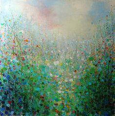 "Saatchi Online Artist Sandy Dooley; Painting, ""Spring Idyll"" #art"