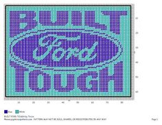 Ford tough logo