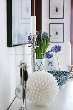 HOUSE of IDEAS white blue http://myhouseofideas.blogspot.de/