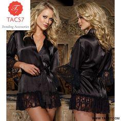 f6bd5ccb0a Lace Bathrobe Nightdress Lingerie for Women Lingerie Underwear