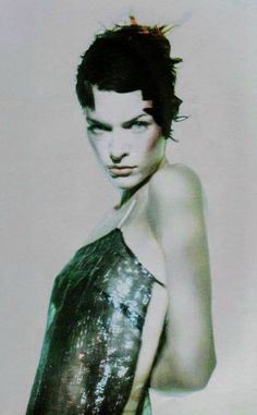 Milla Jovovich photographed by Paolo Roversi for Vogue Italia, March 1998 Paolo Roversi, High Fashion Photography, Editorial Photography, Lifestyle Photography, Portrait Photography, Glamour Photography, Jean Paul Goude, Karen Elson, Zeina