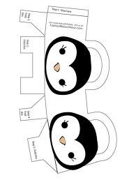 Penguin Party :: printable bag
