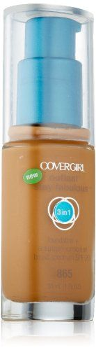 Covergirl Outlast Stay Fabulous 3in1 Foundation Tawny 865 -- For more information, visit new makeup products link.