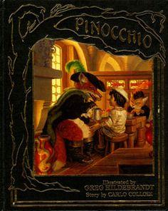 Pinocchio, Greg Hildebrandt