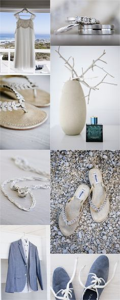 Beach Wedding Bridal Detail