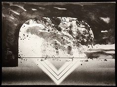 #Untitled abstract black and white lithograph art print. Offers welcomed.