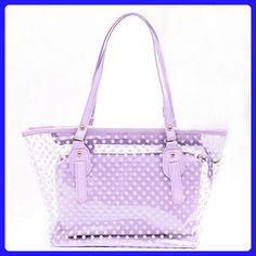 Yiuswoy Candy Color Clear Shoulder Bag 706749c645b0f