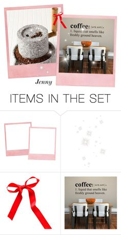 """""""coffee : liquid that smells like freshly ground heaven"""" by smile2528 ❤ liked on Polyvore featuring art"""