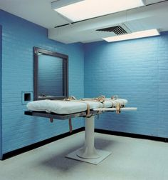 Lethal Injection Chamber, Texas State Prison, Huntsville, Texas, 1992
