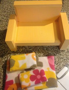 DIY easy doll chair! Add cushions and BAAM!