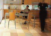 Forbo's linoleum Global 3 is flooring that is made of renewable raw materials: linseed oil, rosin, wood flour, limestone, pigments and jute. This collection of flooring offers 12 designs, and hundreds of combination options for any style. Forbo also offers a cutting service for special logos and visuals.