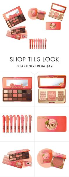 """""""Untitled #187"""" by marksthomas ❤ liked on Polyvore featuring Too Faced Cosmetics"""
