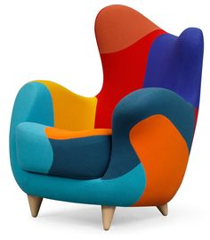 u0027ALESSANDRAu0027 LOUNGE CHAIR / Javier Mariscal  sc 1 st  Pinterest & Check out http://handchair.org/ for a chair shaped like a hand.Find ...