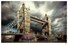 Rule Britannia - Tower Bridge Available at Images in Frames East London #Wanstead #Walthamstow #E11  #E17 www.imagesinframes.com