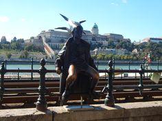 Little Princess Statue, Budapest, Hungary