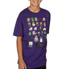Minecraft Sprites Youth T-shirt $17.99