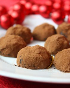 Lower sugar and gluten free truffle recipes