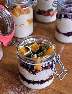 Připravte si výborné, jednoduché a výživné snídaně na několik dní dopředu. Pokud vám je, stejně jako | Veganotic