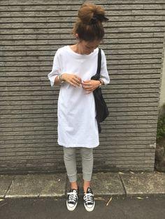 楽チンコーデ。 Instagram…yuko3776