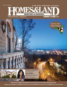 New Issue! Homes & Land Demeures Et Domaines Quebec Canada #homesandlandmagazine #realestate