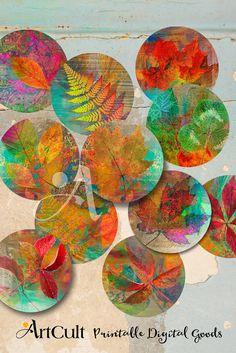 3.5 imágenes de círculo de tamaño para imprimir por ArtCult en Etsy