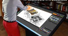 Multitouch Drafting Table for Architects & Designers | ideum