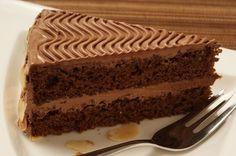 Eine Schokoladen-Buttercremetorte für Genießer