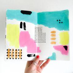 Elma de Jonge | art journal page