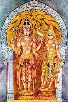 Shiva Parvathi uttama_dasatala by Shilpi Sri Siddalingaswamy of Mysore