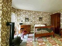 Virtual tour of the interior of the Abraham Lincoln home in Springfield, Illinois