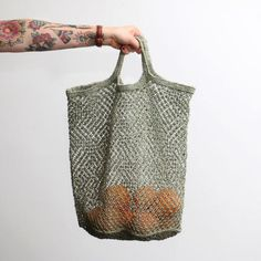 Hand woven jute macrame tote bags made from sustainable material by a fair trade co-operative. These unique and super stylish bags are a must for any trip.