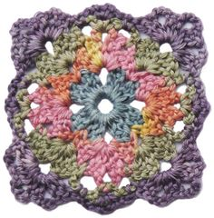 crochet irish rose granny square | Irish Crochet Rose Motif Free Pattern – Squidoo : Welcome to Squidoo