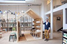 BOUTIQUE : LA TRÉSORERIE Boutique Deco, Kids Boutique, Boutique Design, Kids Store, Baby Store, Espace Design, Retail Store Design, Layout, Pop Up Shops