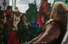 Didn't he lie in one of the other movies and say Thor pushed him off the bridge? XD