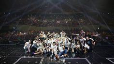 JYP Nation kick off their family concert 'ONE MIC' in Seoul | http://www.allkpop.com/article/2014/08/jyp-nation-kick-off-their-family-concert-one-mic-in-seoul
