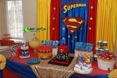 Superhero First Birthday Superman Party 3rd Parties Torta