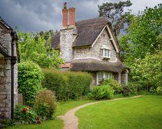 ***Cottage (Blaise Hamlet, Bristol, England) by Bob Radlinski Fairytale Cottage, Storybook Cottage, Beautiful Homes, Beautiful Places, British Countryside, Cottage Homes, Cottage Gardens, Outdoor, Bristol England