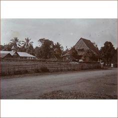 Thr village of Tomohon 1900- 1920.