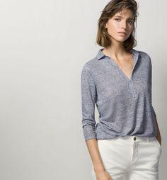 tendencias-de-moda-otono-invierno-2015-2016-blusas-camisetas-modelo-polo-mango