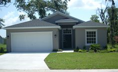 Monroe by Highland Homes. Click to view the home plan and for more info on this Florida new home! #dreamhomes