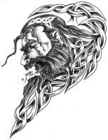celtic tattoo designs by on DeviantArt Celtic Tribal, Celtic Art, Tattoo Design Drawings, Tattoo Designs, Tattoo Ideas, Art Viking, Husband Tattoo, Fantasy Fighter, Pirate Tattoo