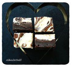 """Mariage Heureux d""""un Fondant au Chocolat et d'un Cheesecake"""