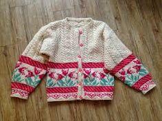 Bilderesultat for strikket jakke mønster fra 2000