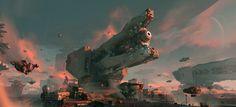 ArtStation - Interstellar cannon, chenxi kang