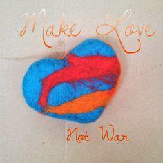 Marijn van der Sman: make love not war